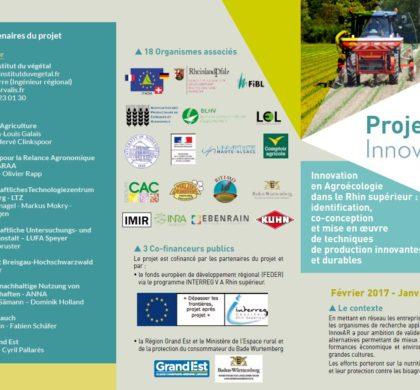 Flyer de présentation du projet Innov.AR