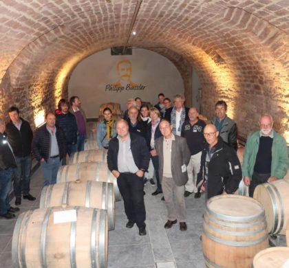 Visite d'un groupe de viticulteurs suisses au DLR Rheinpfalz